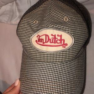 Vintage von dutch baseball cap